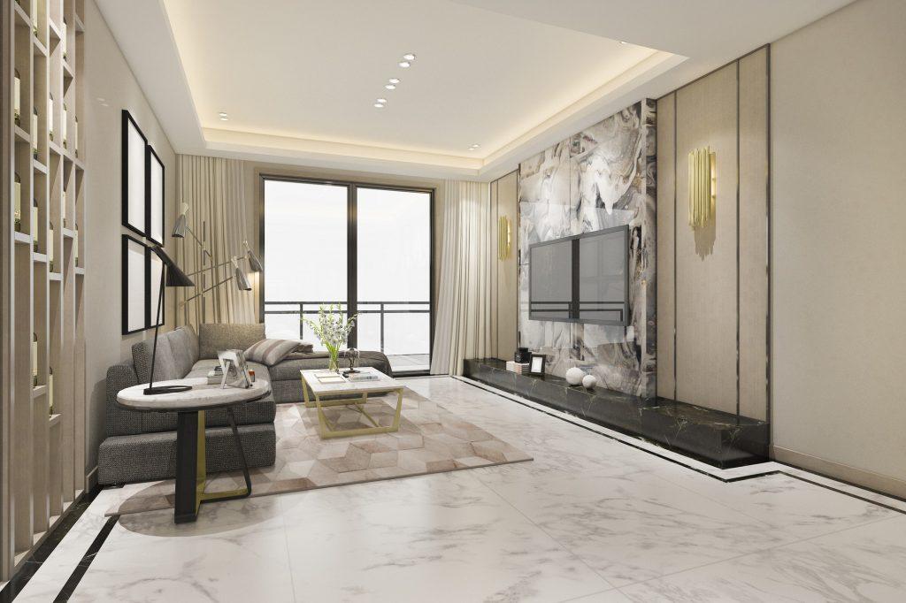 3d rendering luxury classic Servicios Reformas integrales Viviendas Las Palmas